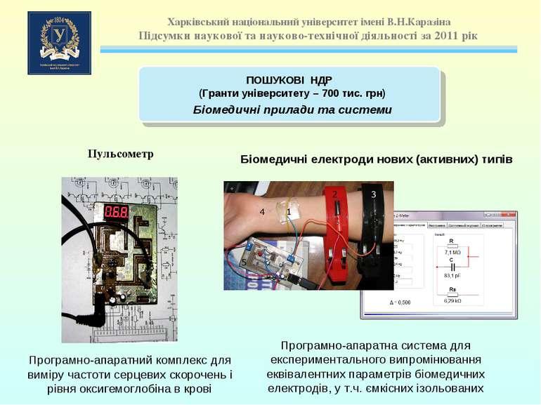 Пульсометр Програмно-апаратний комплекс для виміру частоти серцевих скорочень...