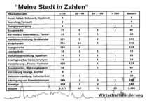 """""""Meine Stadt in Zahlen"""""""