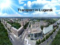 Transport in Lugansk