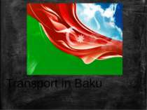Transport in Baku