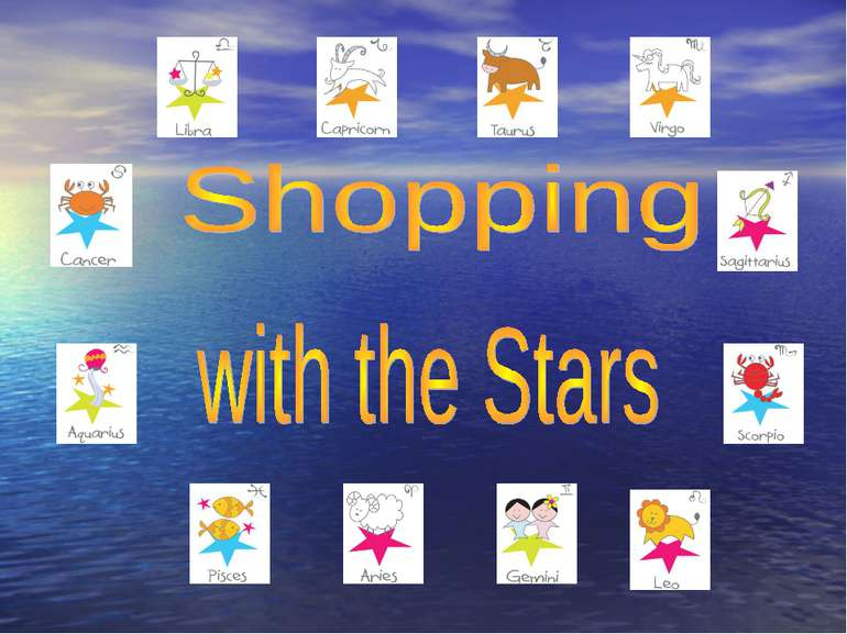 Shopping and the Stars