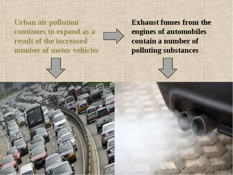 Urban air pollution continues to expand as a result of the increased number o...