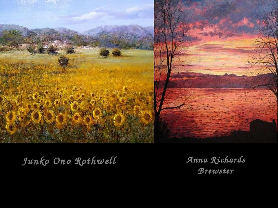 Junko Ono Rothwell Anna Richards Brewster
