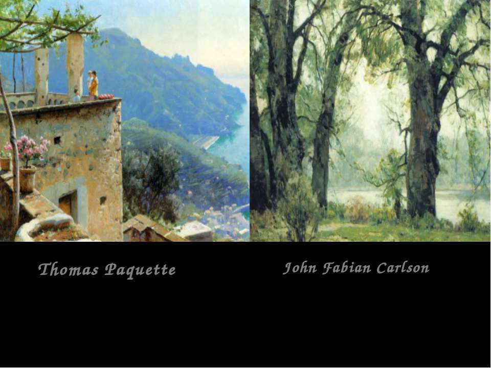 Thomas Paquette John Fabian Carlson