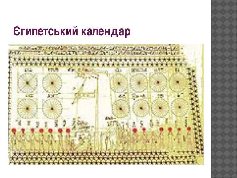 Єгипетський календар