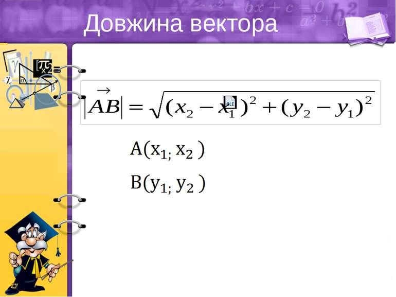 Довжина вектора