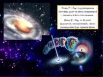 Якщо Р > Ркр, то розширення Всесвіту рано чи пізно зупиниться і зміниться йог...