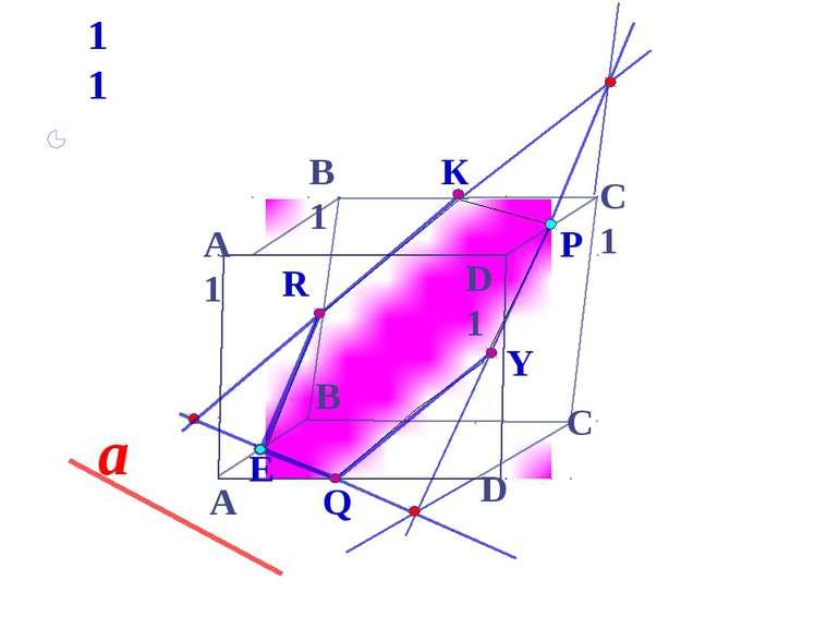А D С А1 B1 С1 D1 B Е а P 11 Y К R Q * Зив Б.Г. Дидактические материалы по ге...