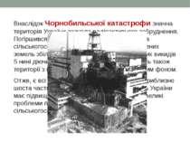 Внаслідок Чорнобильської катастрофи значна територія України зазнала радіоакт...