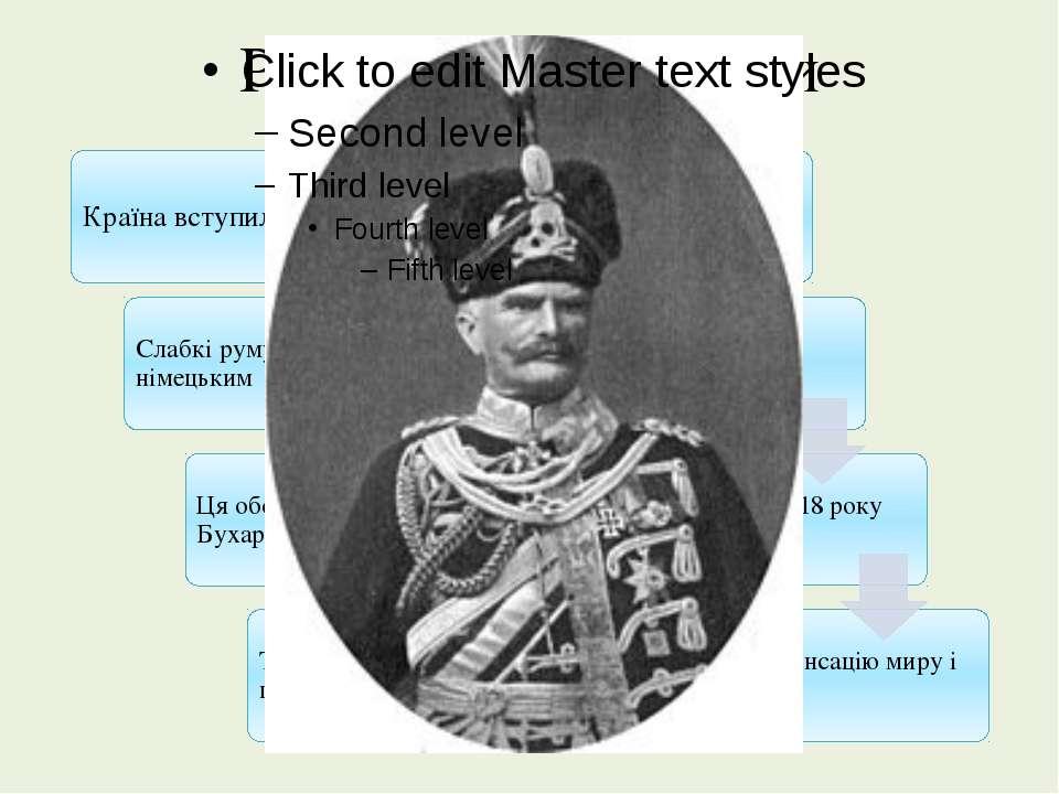 Румунія в роки війни генерал окупаційних військ Макензен