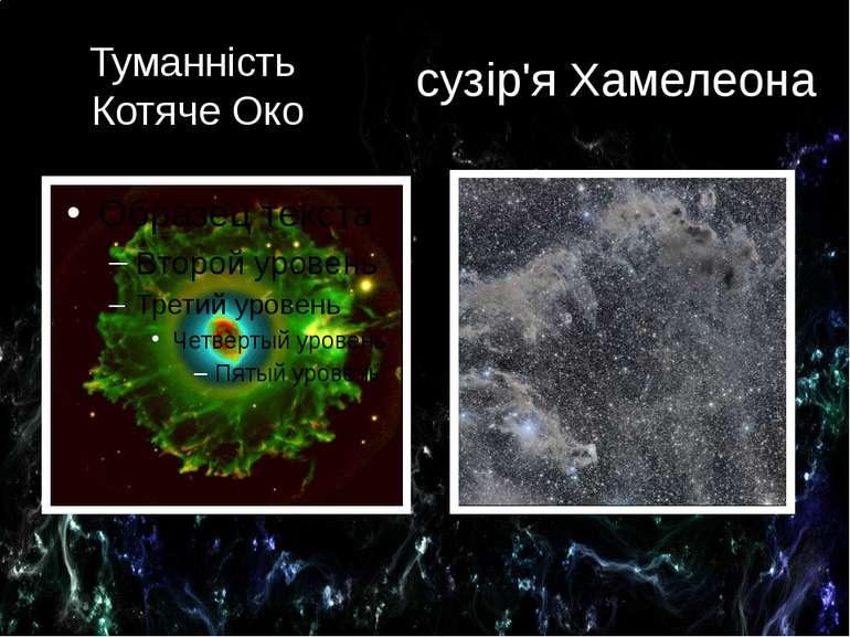 Туманність Котяче Око сузір'я Хамелеона