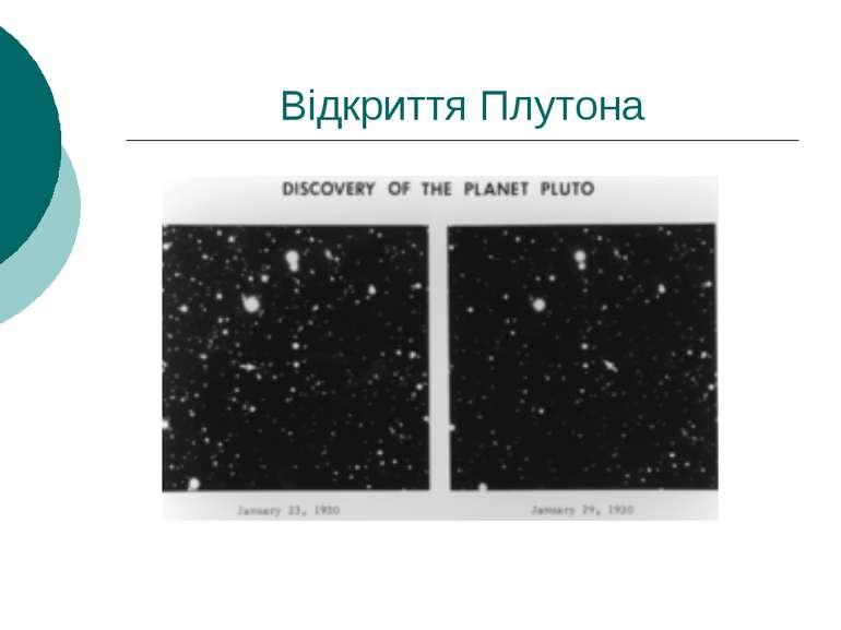 Відкриття Плутона