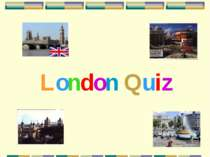 London: English Quiz