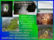 Кармалюкова печера с. Привороття Вивітрені і розмиті вапняки утворюють екзоти...