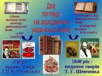 1)Вона виникла після розпаду давньоруської мови у XIV столітті 2) Походить ві...