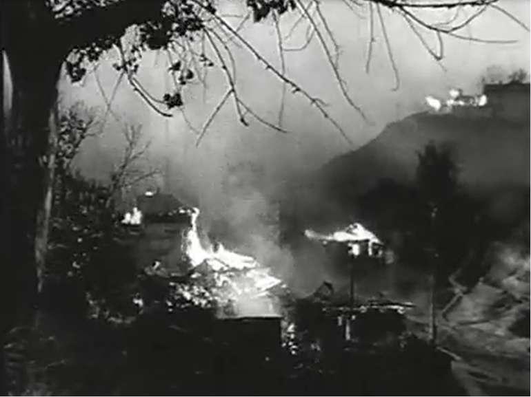 Німці нищили все навкруги, спалюючи хати, будинки, розстрілюючи, грабуючи та ...