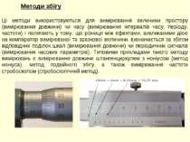 Методи збігу Ці методи використовуються для вимірювання величини простору (ви...
