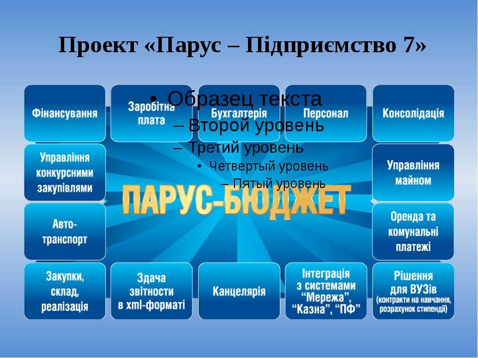 Проект «Парус – Підприємство 7»