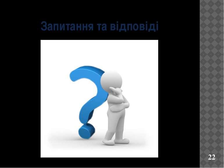 Запитання та відповіді