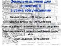 Земельні ділянки для інвестицій з усіма комунікаціями Земельна ділянка — 0,38...