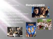 Фильмографія Композит музичних мюзиклів таких як: «Незнайка на Місяці, Вечір ...