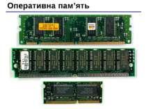 Оперативна пам'ять