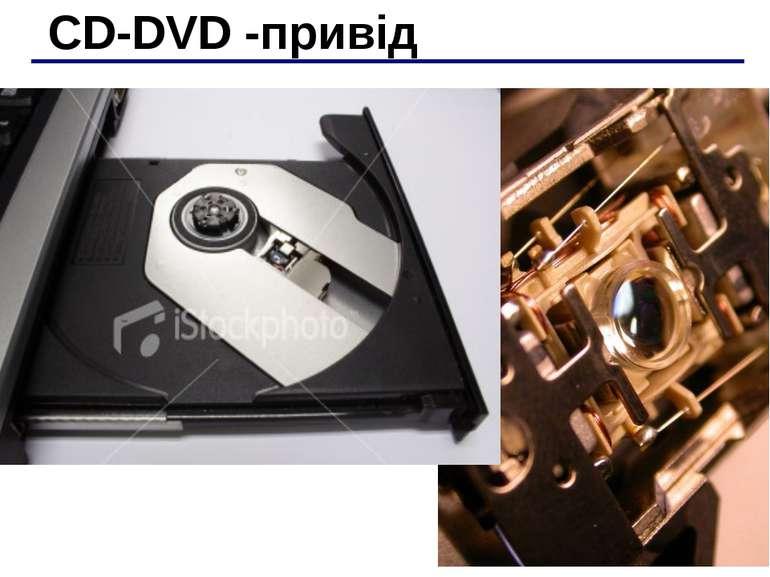 CD-DVD -привід
