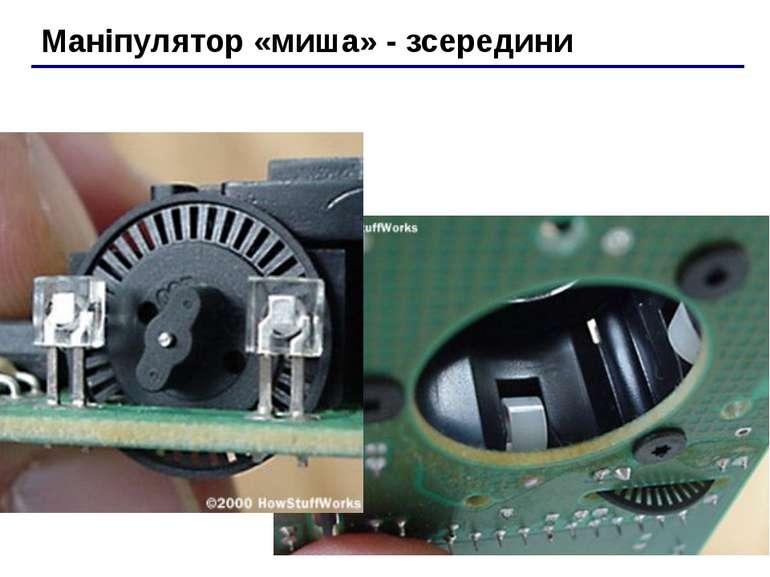 Маніпулятор «миша» - зсередини