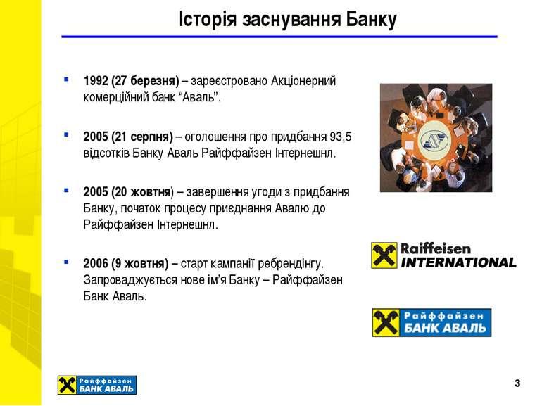 * Історія заснування Банку 1992 (27 березня) – зареєстровано Акціонерний коме...