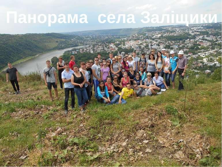 Панорама села Заліщики
