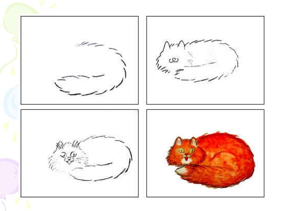 ліплення котика