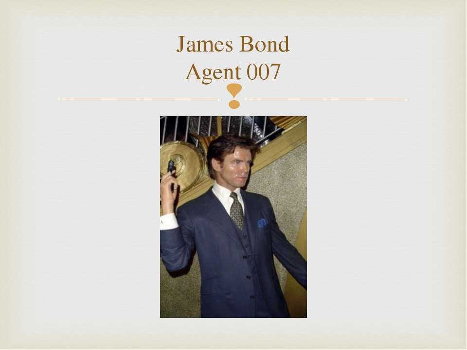 James Bond Agent 007
