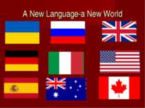 A New Language-a New World