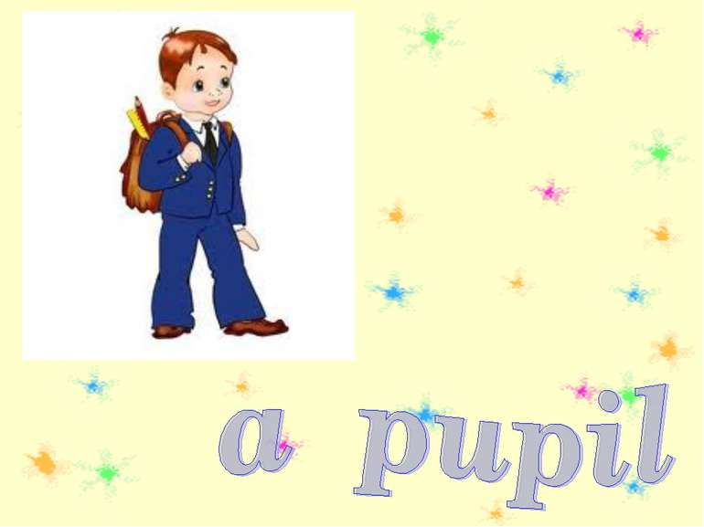 a pupil