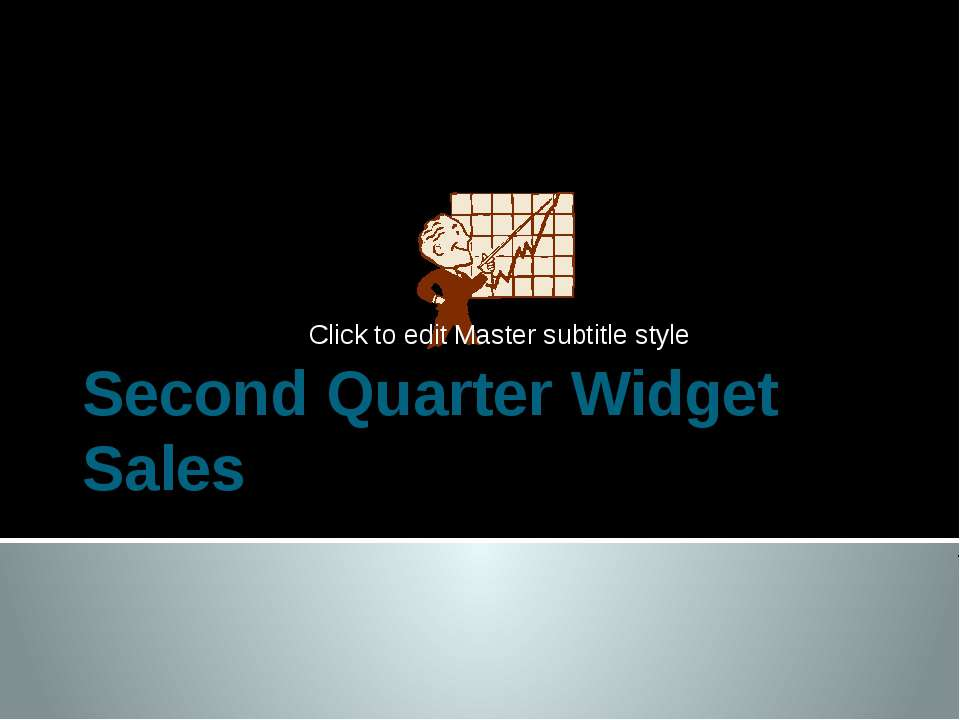 Second Quarter Widget Sales