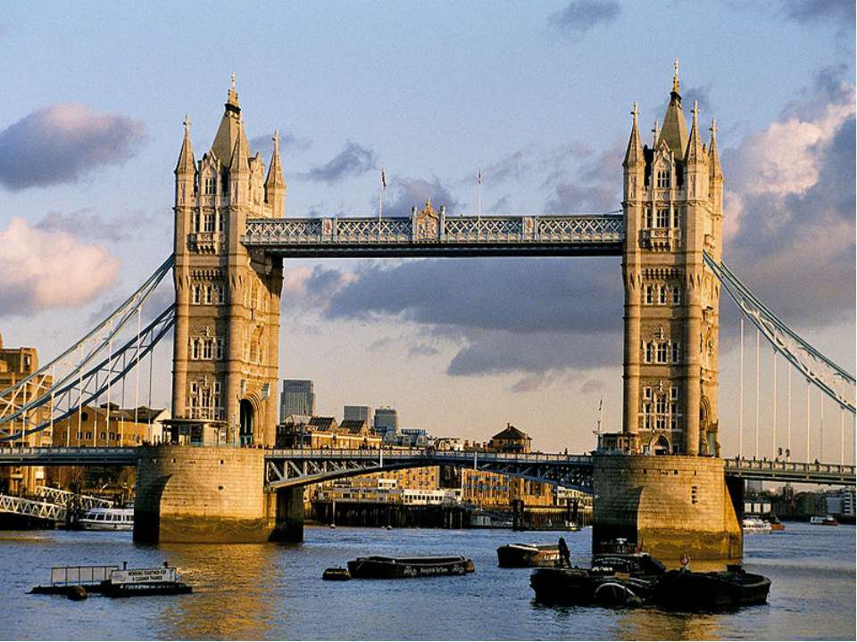 … is the most famous bridge in London. USE: Westminster Abbey, the Houses of ...