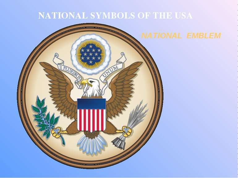 NATIONAL SYMBOLS OF THE USA