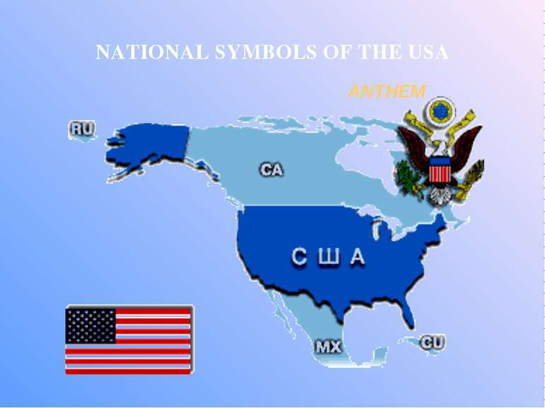 ANTHEM NATIONAL SYMBOLS OF THE USA