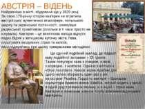 АВСТРІЯ – ВІДЕНЬ   Це єдиний подібний заклад, де подають каву подвійної ...