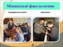 Міжшкільні факультативи Громадянська освіта Креслення