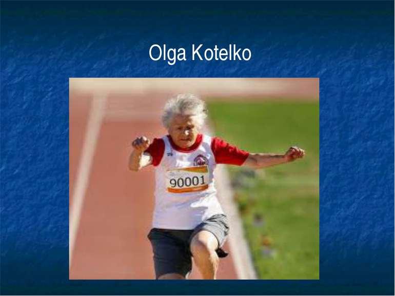 Olga Kotelko