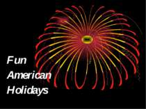 Fun American Holidays