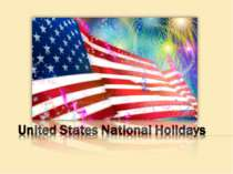 United States Modern National Holidays