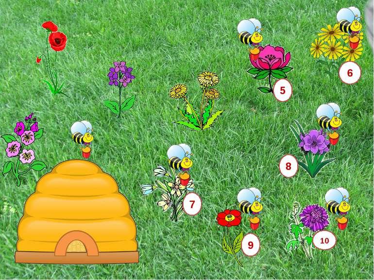 3+5= 7 9 8 1 Нажимайте на цифри по порядку і допомагайте бджілкам розв'язуват...