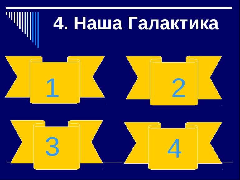 4. Наша Галактика 1 2 3 4