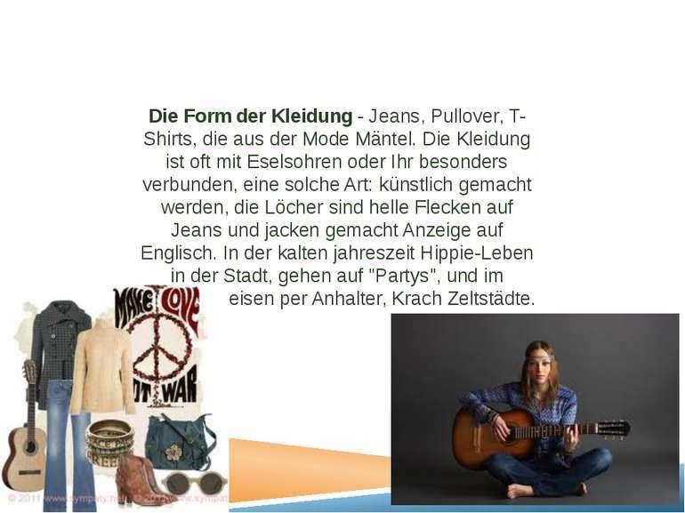 Die Form der Kleidung - Jeans, Pullover, T-Shirts, die aus der Mode Mäntel. D...