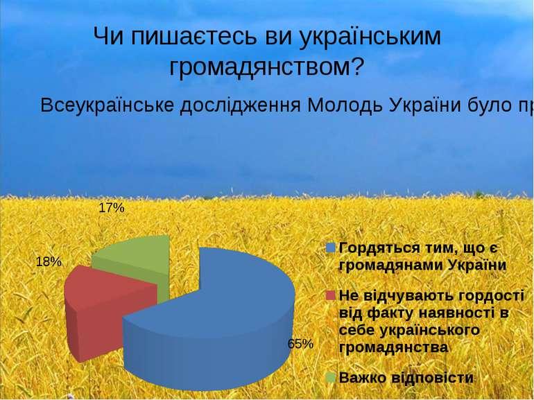 Підсумок Так, українці – не ідеальна нація, проте кожен з нас може наблизити ...
