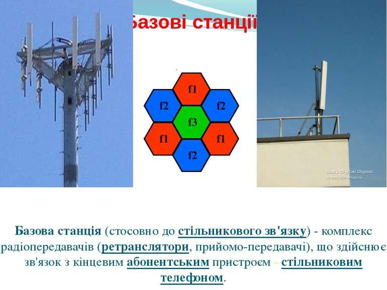 Базові станції. Базова станція (стосовно до стільникового зв'язку) - комплекс...