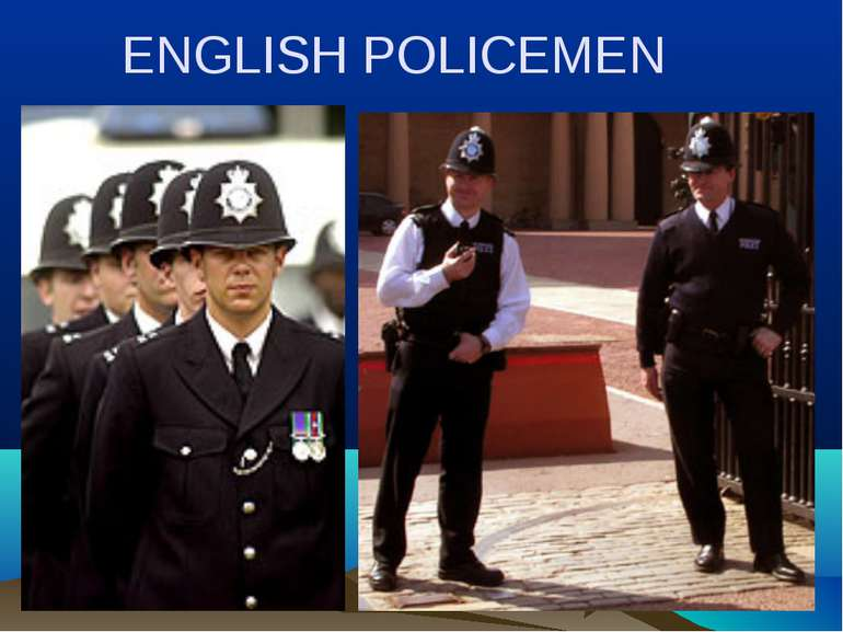 ENGLISH POLICEMEN