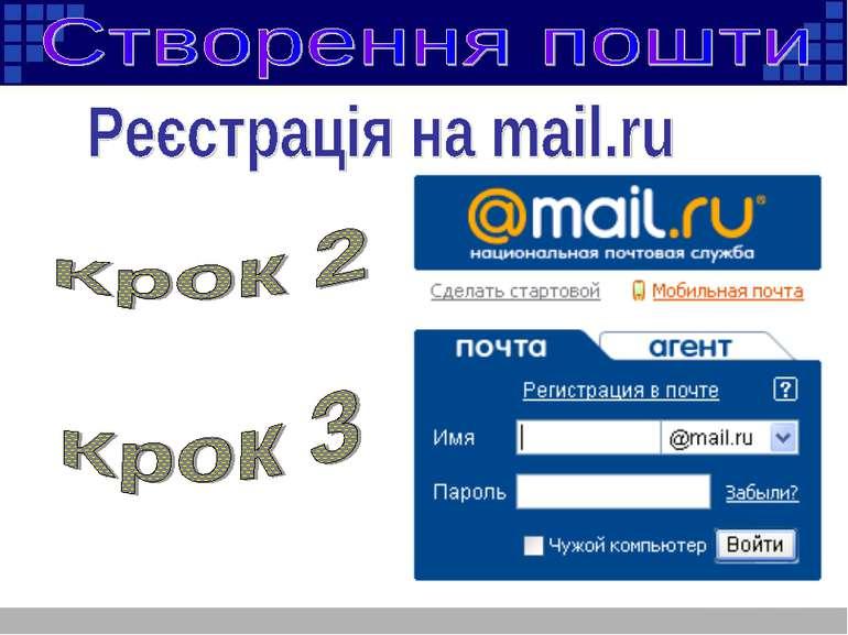створення пошти